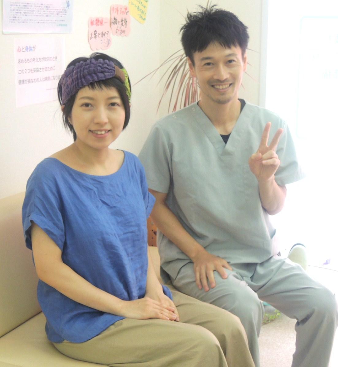 産後の骨盤矯正 神戸市垂水区  Aさま 神戸垂水整体院