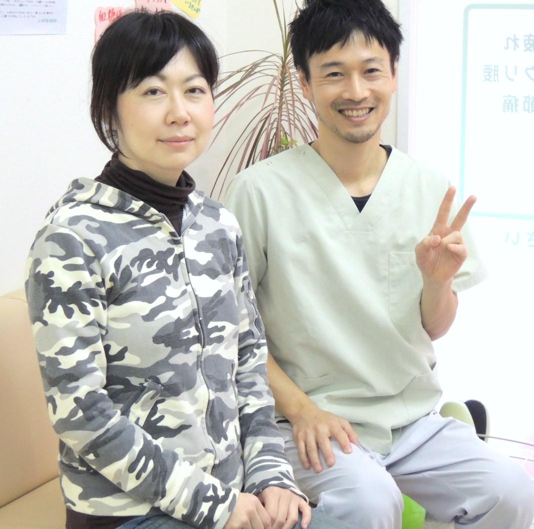 産後の骨盤矯正 明石市 橋本さま. 神戸垂水整体院