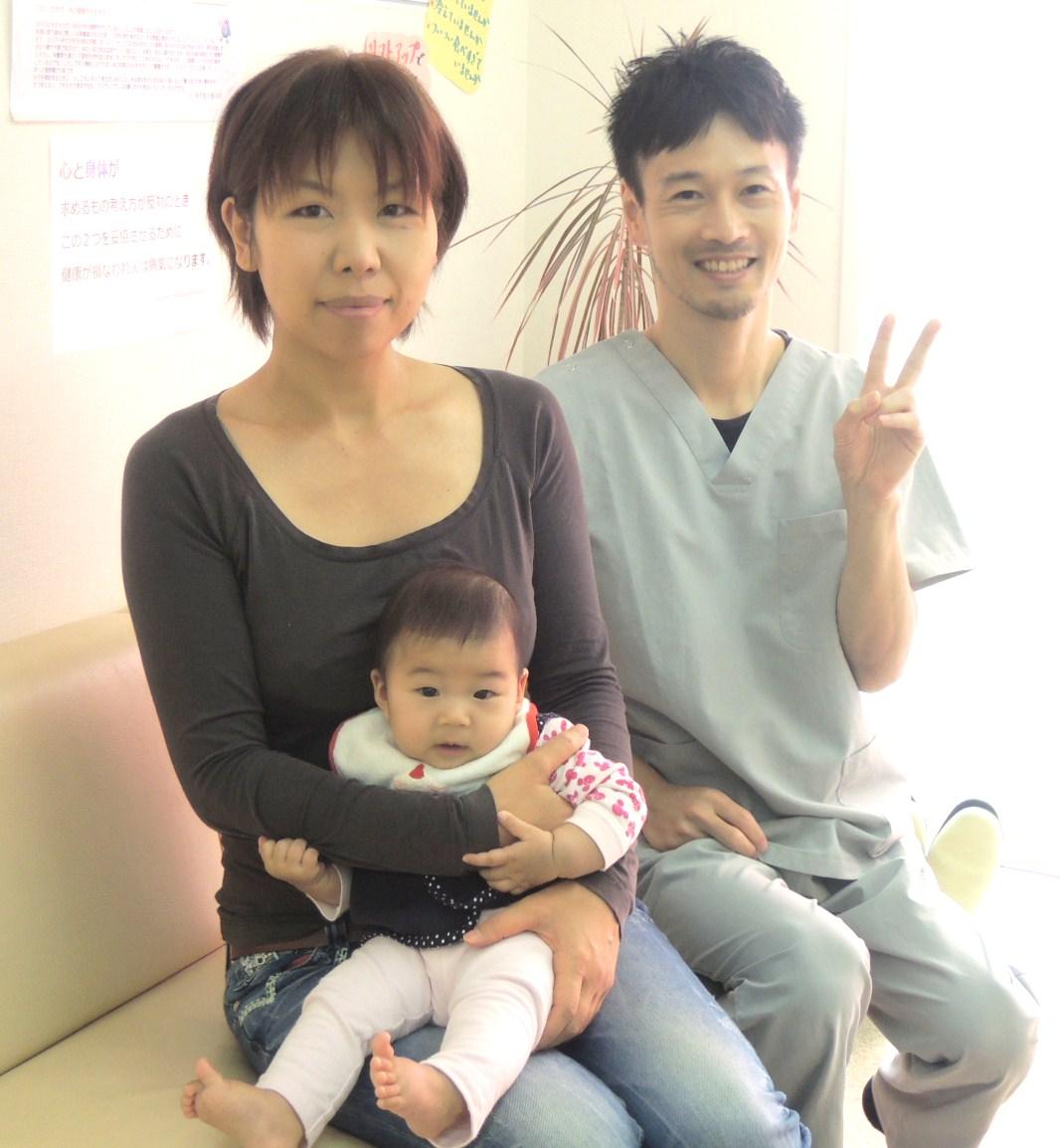 産後の骨盤矯正 神戸市須磨区 Nさま 神戸垂水整体院