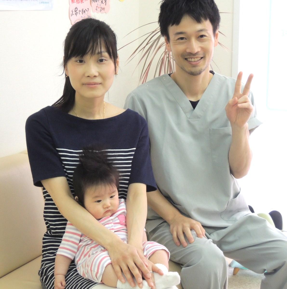 産後骨盤矯正 Tさま 神戸市  神戸垂水整体院